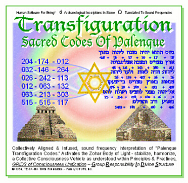 Transfiguration Sacred Codes Of Palenque Church Of The Creator 300w